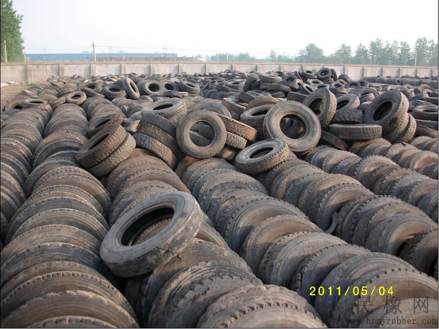 开展废旧轮胎综合利用,有利于缓解我国高清图片